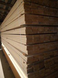 džiovinta, kalibruota, graduota mediena