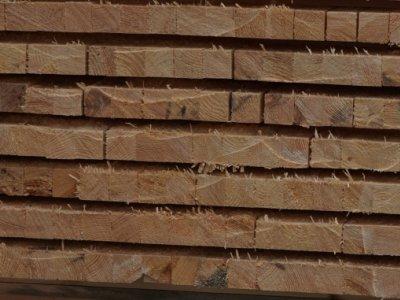 statybinė (stogo) mediena / impregnuojame