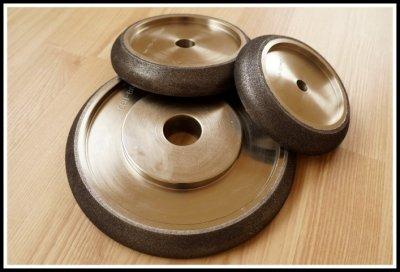 Juostinių pjūklų galandimo diskai