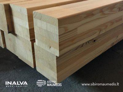 klijuota konstrukcinė mediena