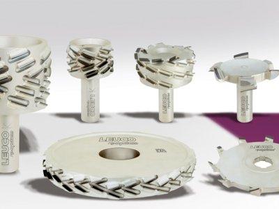 leuco p-system diskinės ir kotinės deimantinės frezos