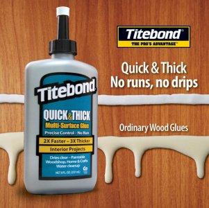 Profesionalūs Titebond klijai medienai