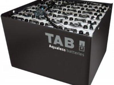 Traukos baterijos krautuvams
